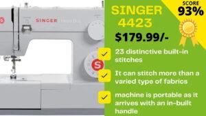 Singer 4423 reviews