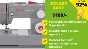 Read more about the article Singer 4432 reviews in #2021 – SHOULD YOU BUY?