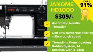 Read more about the article Janome HD1000 Reviews 2021 [YOU'RE BLOWN]