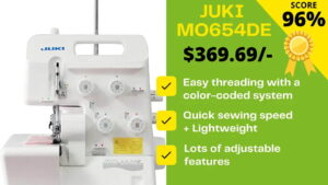 Read more about the article Juki MO654DE Review 2021: The LION serger