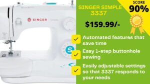 Read more about the article Singer Simple 3337 Review: Is it PERFECT INVESTMENT?