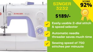 Read more about the article Read our Singer 3232 reviews BEFORE YOU BUY