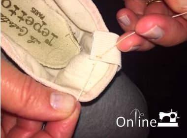 Sew Elastics step 4