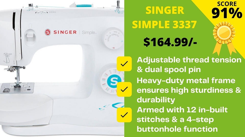 You are currently viewing Singer 3337 is The Best Replacement for Discontinued Singer 1234: Expert's Word