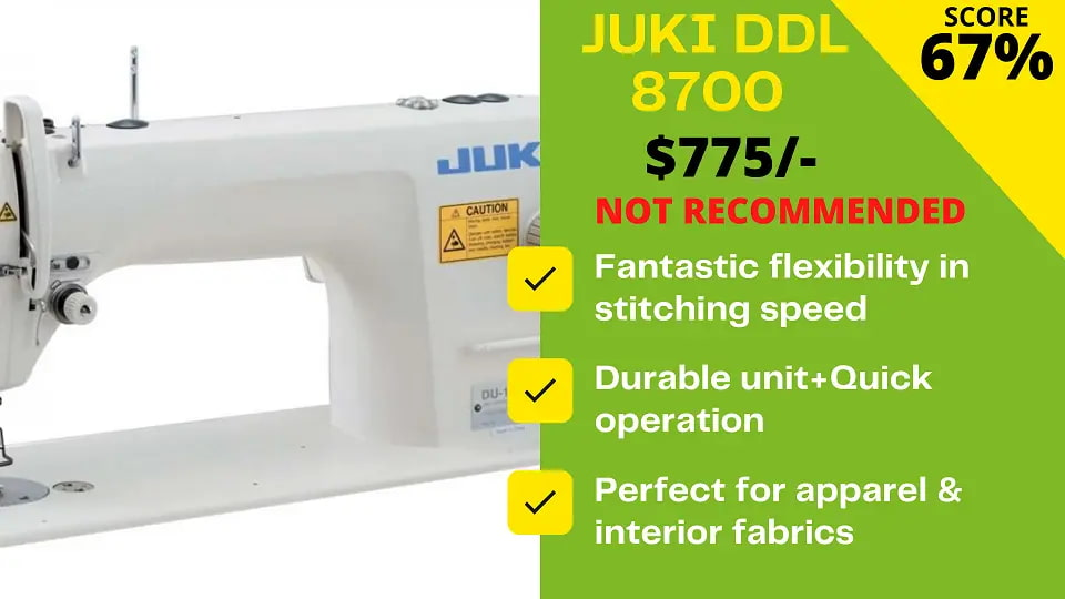 You are currently viewing Expert's Juki DDL 8700 Review (Don't buy)