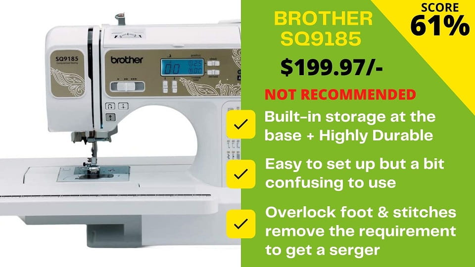 You are currently viewing Brother SQ9185 Reviews: Failed in Our Official Testing