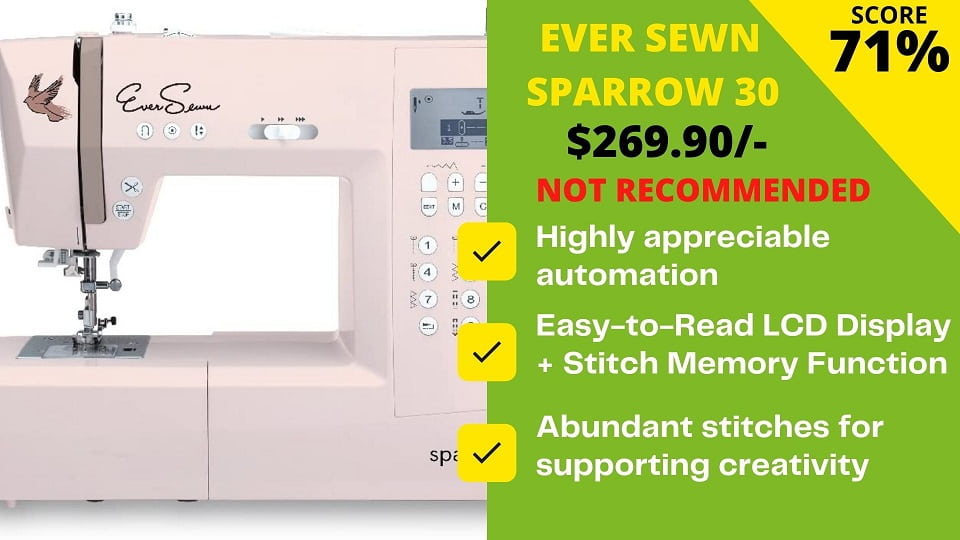 Read more about the article Ever Sewn Sparrow 30 Review: Here's a Better Recommendation