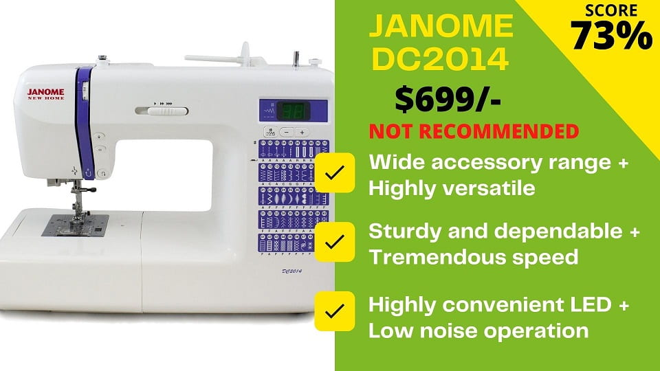 You are currently viewing Janome DC2014 Reviews – BEWARE Don't buy