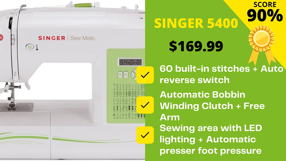 You are currently viewing Expert's Honest Review on Singer 5400 Machine's Features