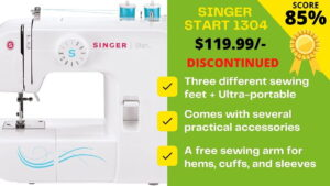 Read more about the article HONEST review of Singer Start 1304 Basic by Expert