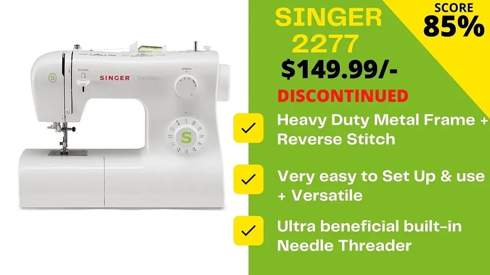 You are currently viewing Best Alternative to Discontinued Singer Tradition 2277 Sewing Machine